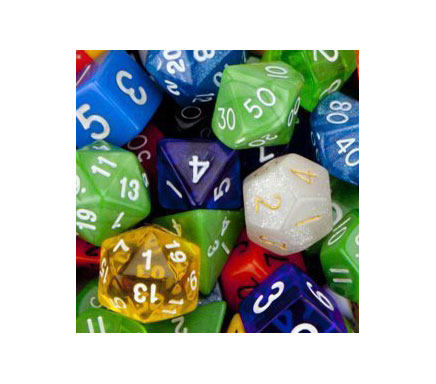 Trade and Wholesale suppliers of Dice and Counters