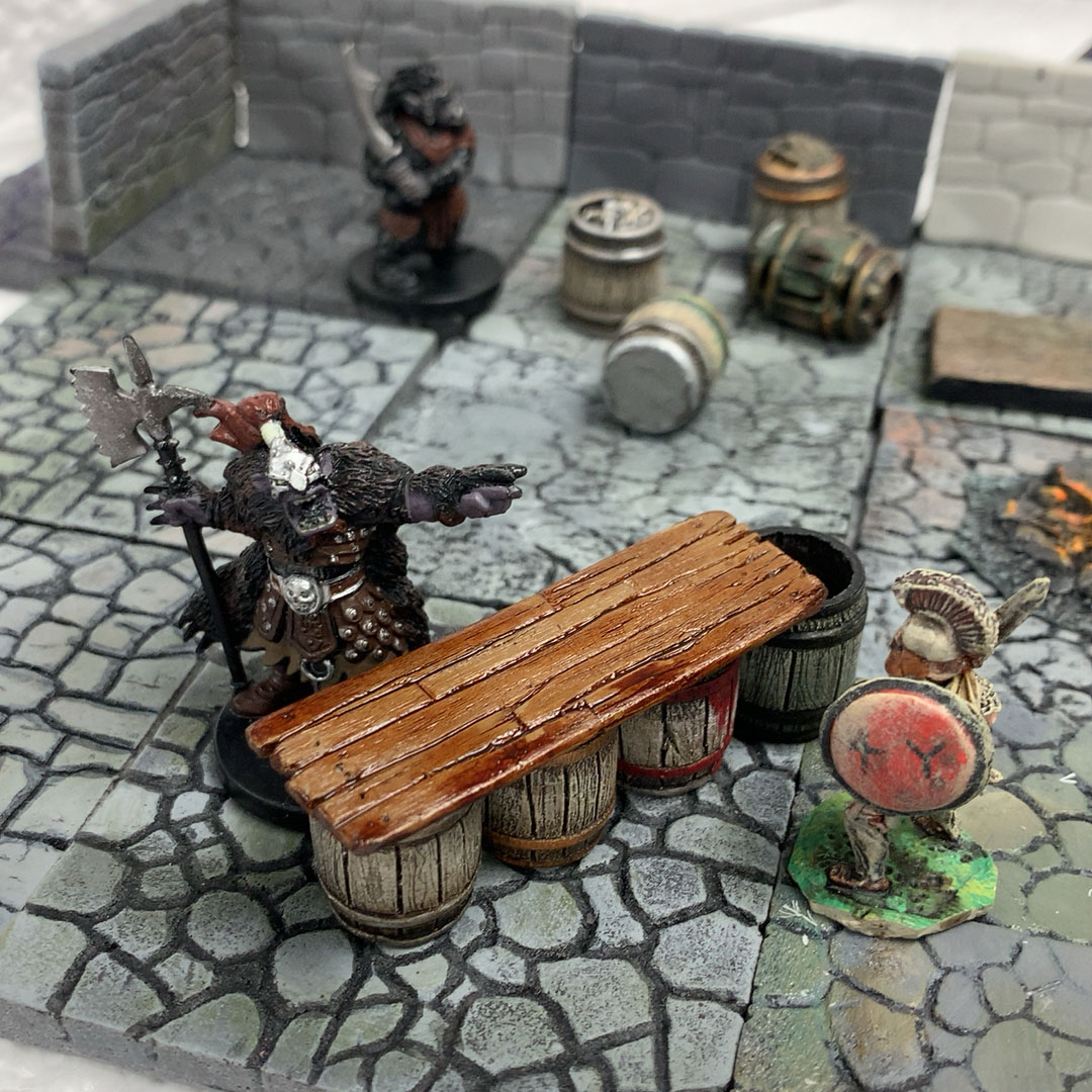 LegendGames - Barrel and bar top set