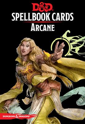 DnD Arcane Spellbook Cards -  Gale Force 9