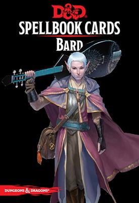 DnD Bard Spellbook Cards -  Gale Force 9