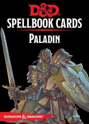 DnD Paladin Spellbook Cards -  Gale Force 9