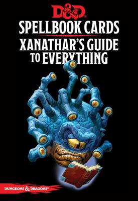 DnD Xanathars Guide to Everything Spellbook Cards -  Gale Force 9